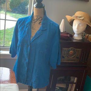 Chico's 100% Linen dressy casual pant suit